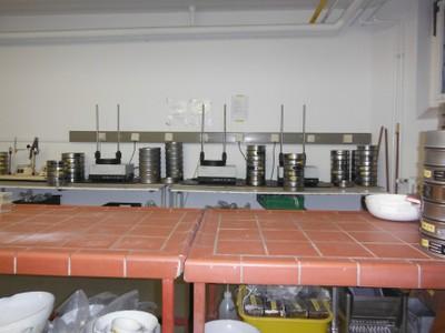 Einrichtung Sieving Lab