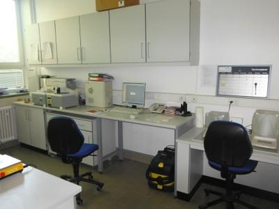 Einrichtung des Sediment-Labors